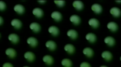 Rotation green pattern chocolate cakes snacks butter biscuits food background. Stock Footage