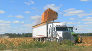 Stock Video Footage of Farm semi2