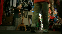Chatuchak Market in Bangkok - Time Lapse Stock Footage