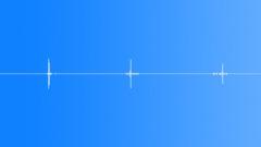 3 golf chip shots, SFX Sound Effect