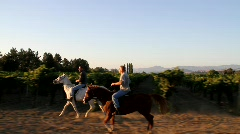 Horseback Riding Stock Footage