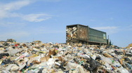 Stock Video Footage of Landfill