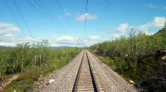 POV travel in Sweden - stock footage