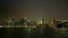 Time-lapse of New York City Skyline Stock Footage