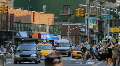 Street Traffic, New York City Footage