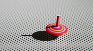 Stock Video Footage of Spinning Top