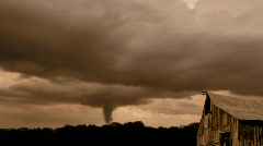 Tornado/Twister in the Storm Stock Footage