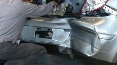 Automotive Repair Work - stock footage
