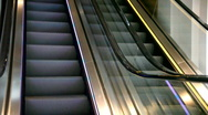 Escalator going up and down Stock Footage
