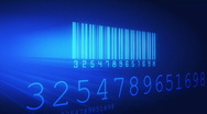 Stock Video Footage of Barcode scan