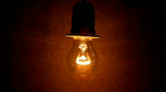 Bulb  lamp Stock Footage