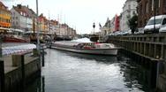 Sightseeing in Copenhagen Stock Footage