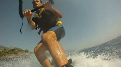 Water Skiing - stock footage