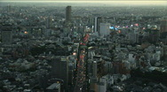 Stock Video Footage of City Aerial View 1 - Time Lapse