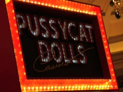 LAS VEGAS STOCK PUSSYCAT DOLLS Stock Footage