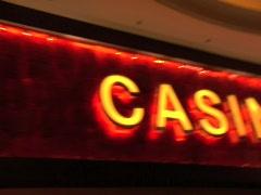 LAS VEGAS STOCK CASINO SIGN Stock Footage