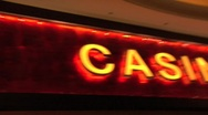 Stock Video Footage of LAS VEGAS STOCK CASINO SIGN