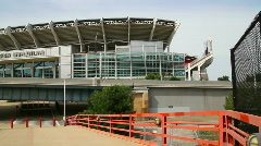 Cleveland Browns Stadium 1894 Stock Footage