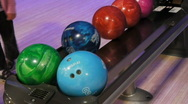 Bowling 1 Stock Footage