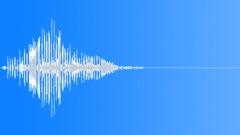 Percussive blast explosion Sound Effect