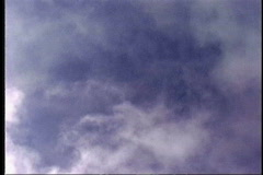 Stock Video Footage of 1503 smoky clouds