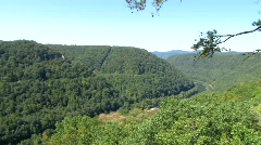 New River Gorge Stock Footage
