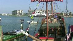 Pirat Shjp Stock Footage