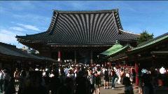 Asakusa Temple 2 - Tokyo Japan Stock Footage