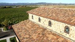 Winery Estate Views Stock Footage