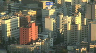 City Aerial View 4 Stock Footage