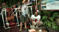 Stock Video Footage of Wounded protester & medic during 2010 Red Shirt protests