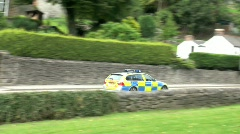 Police Car - stock footage
