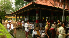 Bail Temple Ceremony 40 - stock footage