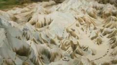 McKinley Mountain range Alaska pan P HD 1529 Stock Footage