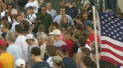 9/11 Memorial Marathon at the Pentagon (1 of 2) Stock Footage