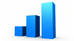 Bar Graph. - stock footage
