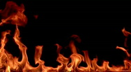 Stock Video Footage of Fire flame / 8х slow motion