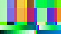Testcard tv televison Stock Footage
