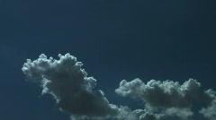 Clouds Sky Cloudscape Timelapse Stock Footage