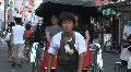 Asakusa Temple 4 - Tokyo Japan - The rickshaw or jinrikisha at Asakusa temple Footage