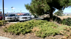 Auto Dealer Used Car Lot Stock Footage