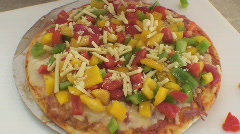 AUSTRALIA-PIZZA-TOPPING 1 Stock Footage