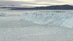 The Eqi glacier calving Stock Footage