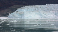Stock Video Footage of Calving glacier