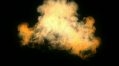 Fireball Explosion 1080p Stock Footage