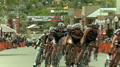 Bicycle race 05 HD Stock Footage