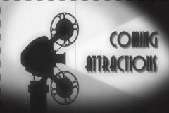 Coming Attractions SD Stock Footage