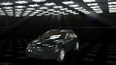 Car assembling, loop, Alpha - stock footage