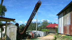 Stock Video Footage of large crane