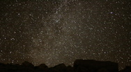 AstroPhotography Perseid Meteor Shower 1 Timelapse x240 Milky Way Stock Footage